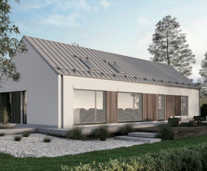 Проект одноэтажного дома P21 - фото №1