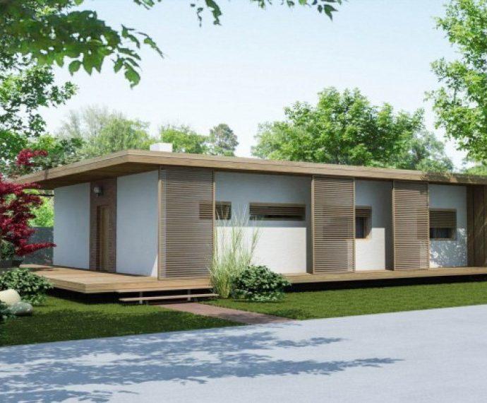 Проект одноэтажного дома P37 - фото №1