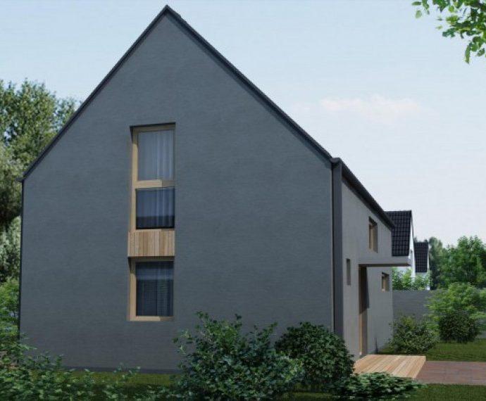 Проект мансардного дома с террасой S50 - фото №1