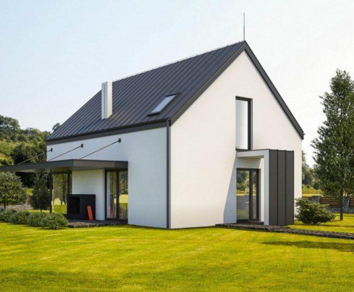 Проект мансардного дома S54 - фото №1
