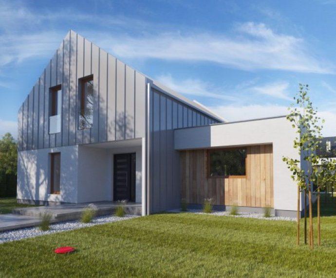 Проект мансардного дома S57 - фото №1