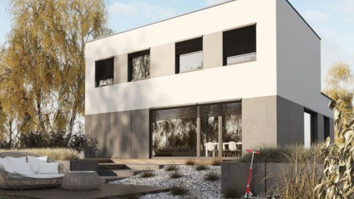 Проект двухэтажного дома с гаражом V13 - фото №2