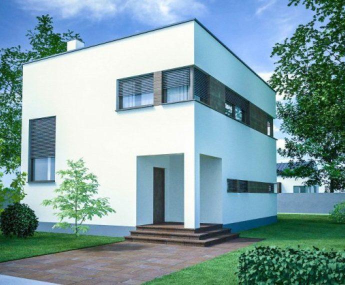 Проект двухэтажного дома V19 - фото №1