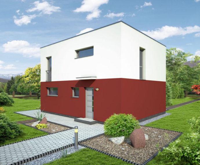Проект двухэтажного дома V26 - фото №1