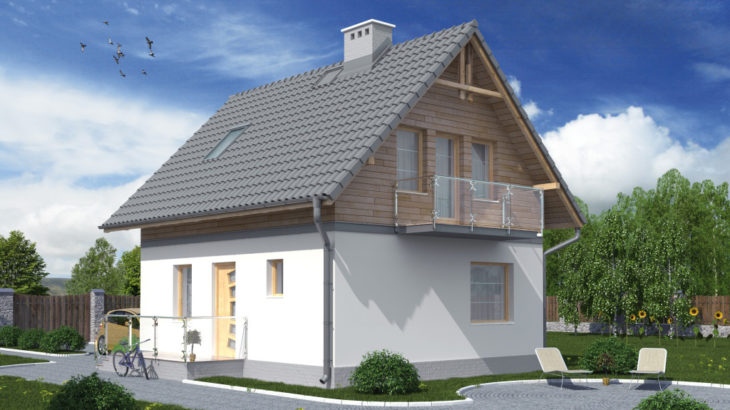 Проект мансардного дома S76 - фото №4