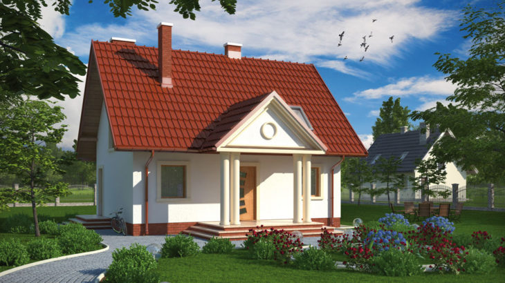 Проект мансардного дома S79 - фото №2