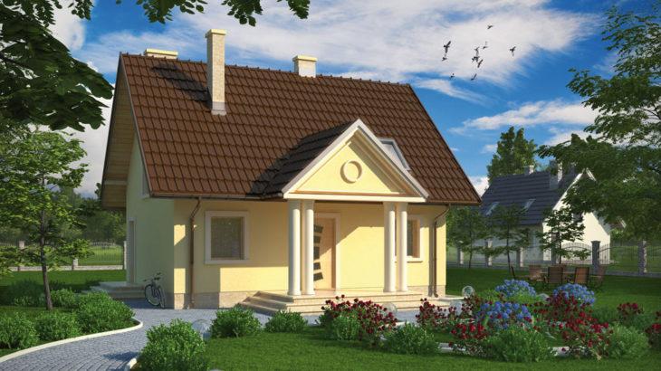 Проект мансардного дома S79 - фото №3