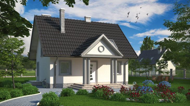 Проект мансардного дома S79 - фото №4