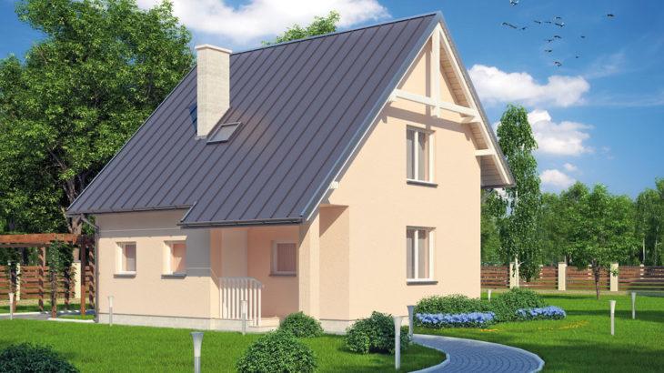 Проект мансардного дом S81 - фото №3