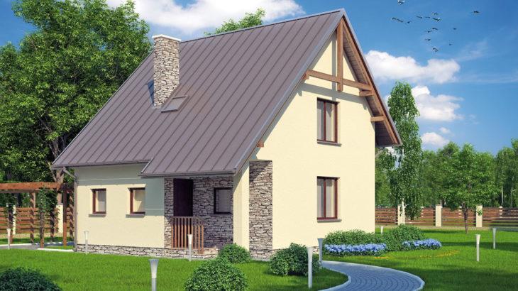 Проект мансардного дом S81 - фото №4