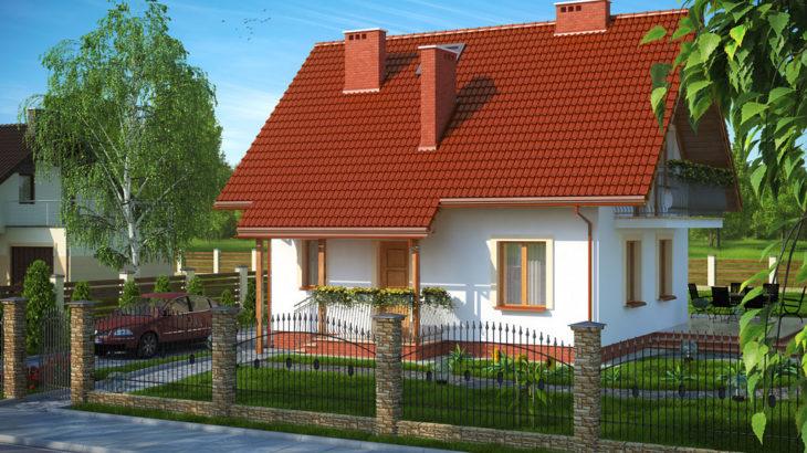 Проект мансардного дома S82 - фото №2