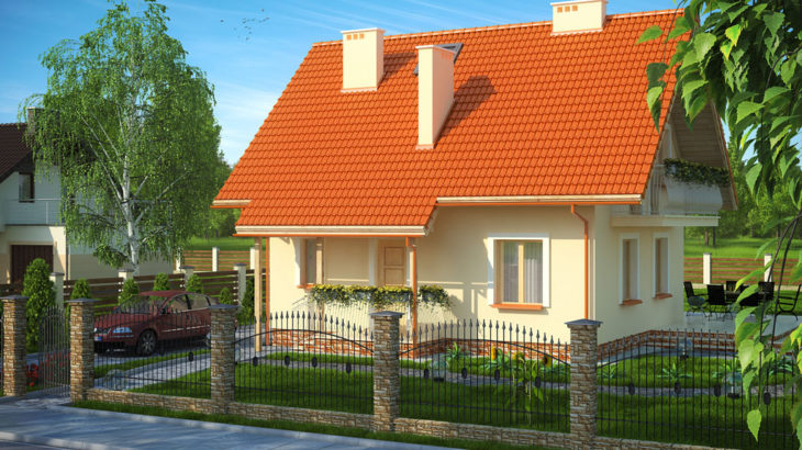 Проект мансардного дома S82 - фото №3