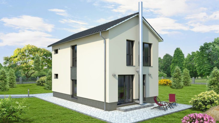 Проект двухэтажного дома V23 - фото №1