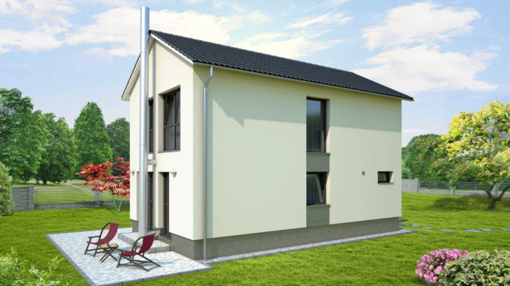 Проект двухэтажного дома V23 - фото №2