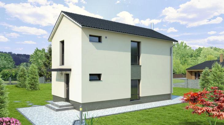 Проект двухэтажного дома V23 - фото №3