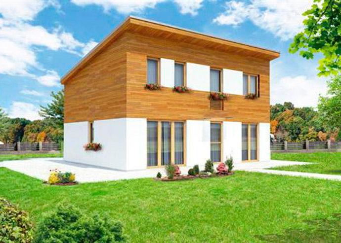 Проект двухэтажного дома V29 - фото №1